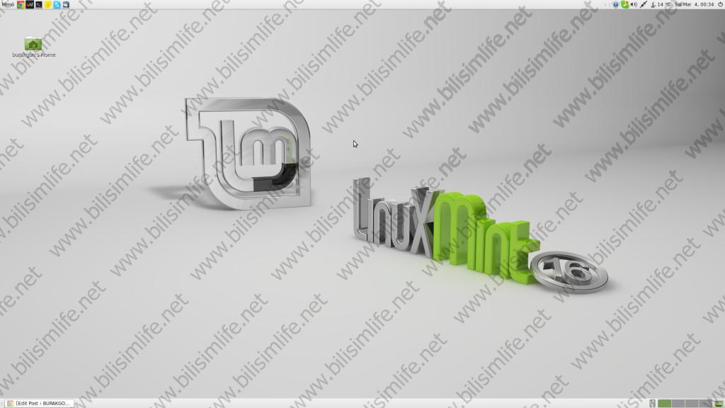 Linux Mint Da&#287&#305t&#305m&#305