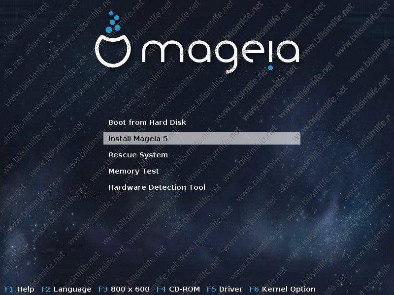 Mageia 5 Kurulumu fotoğrafını tam boyutta görmek için tıklayın