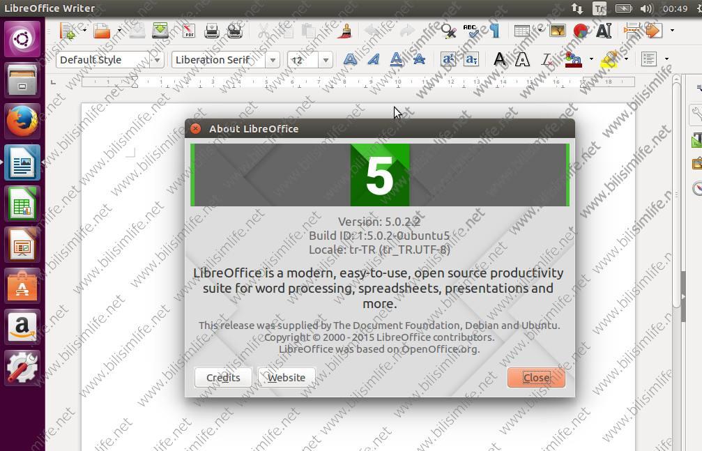 Ubuntu 16.04 Kurulumu fotoğrafını tam boyutta görmek için tıklayın