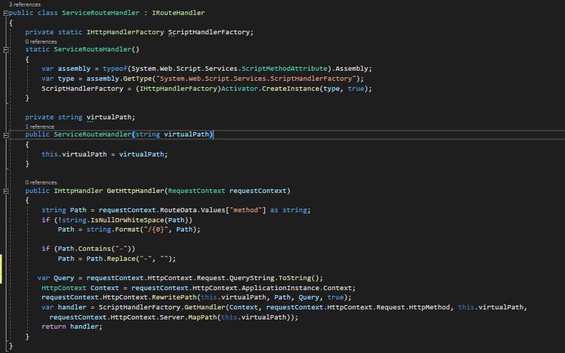 ASP.NET Web Service (ASMX) URL Routing - Get ve Post Işlemleri